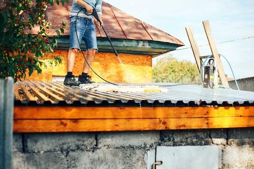Nettoyage de toiture à Cannes